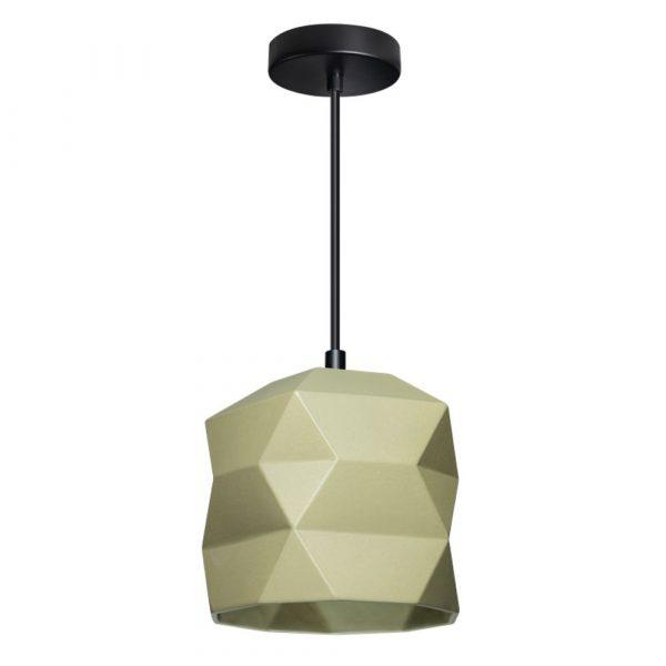 Hanglamp trigami groen