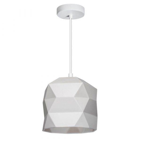 Hanglamp trigami wit